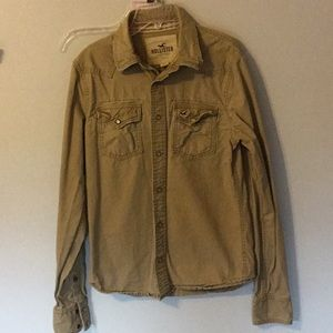 Hollister size small western style shirt